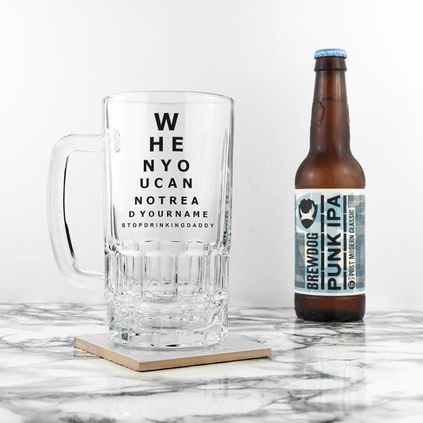opticians-chart-beer-glass-tankard-per265-001