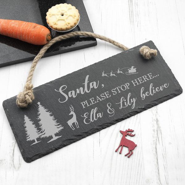 personalised-we-believe-slate-hanging-sign--per3025-001